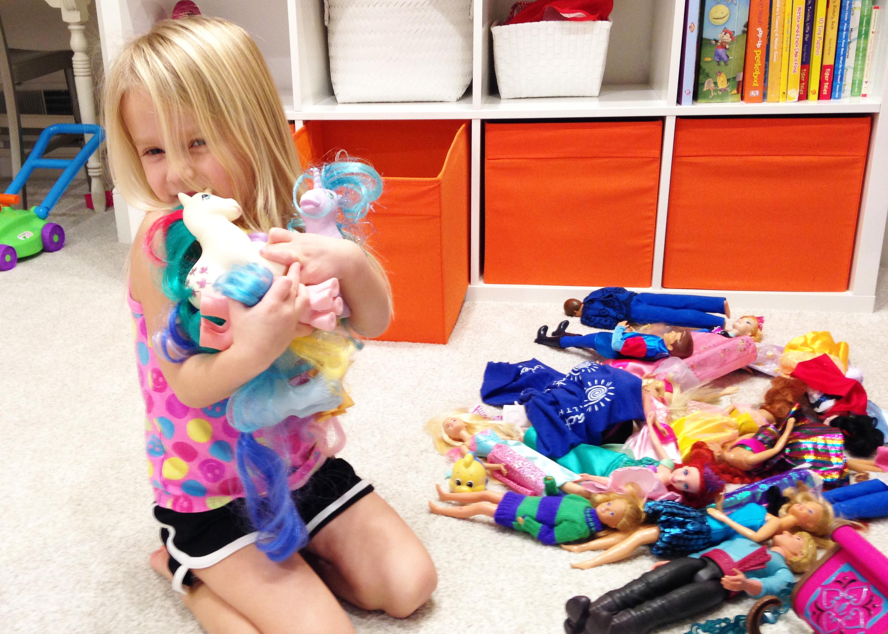 Sanity-saving tips for storing toys