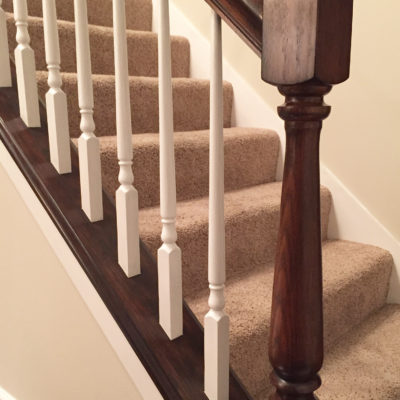 How changing up a banister can change everything