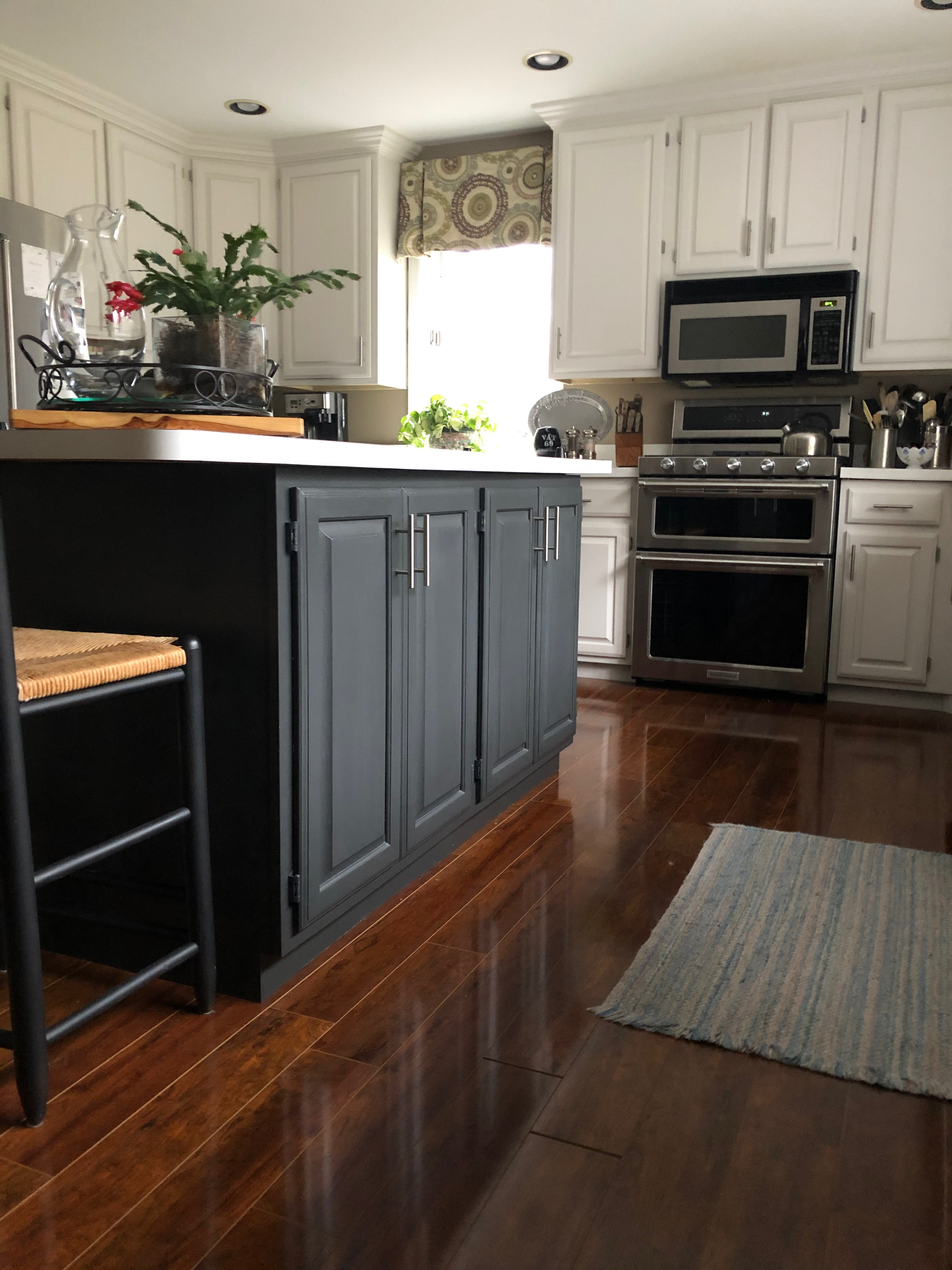 Images Of Painted Kitchen Cabinets DIY Kitchen Update: Painting Kitchen Cabinets   a little kooky