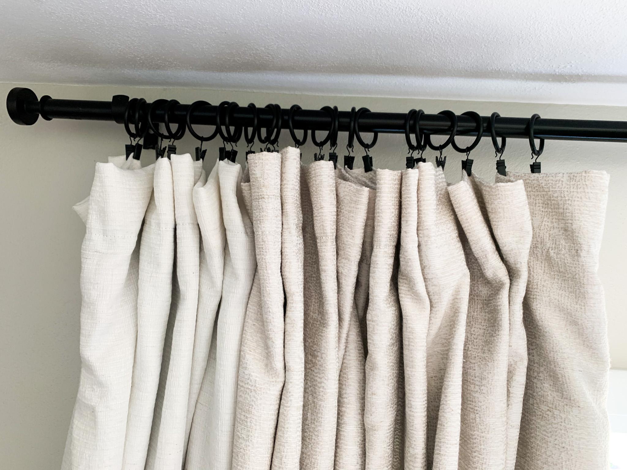 Diy Extra Long Curtain Rod A Little Kooky